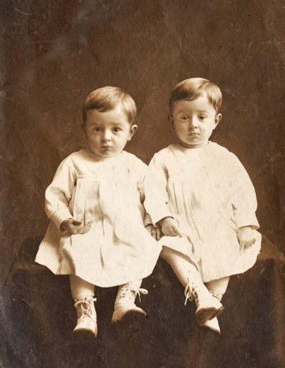 Tweeling Piet en Hans van der Bijll