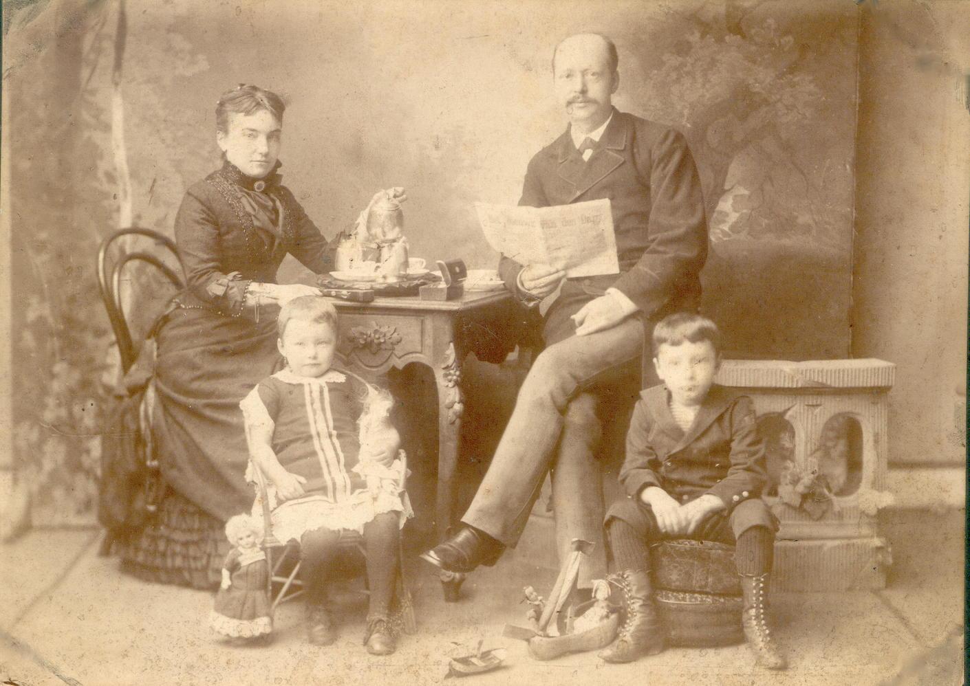 gezin van Baarda-Reckleben