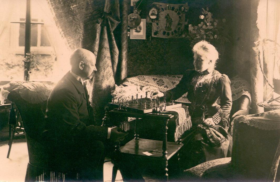Coen van Baarda met echtgenote